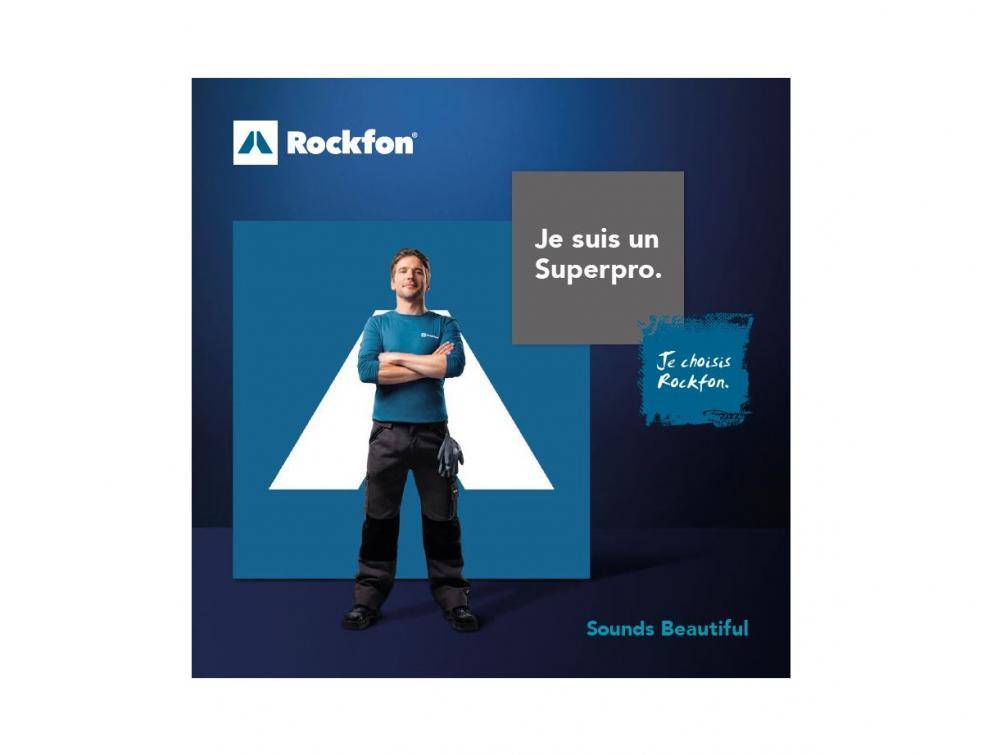 Rockfon lance «MyRockfon», un programme de fidélité dédié aux professionnelsdu plafond !