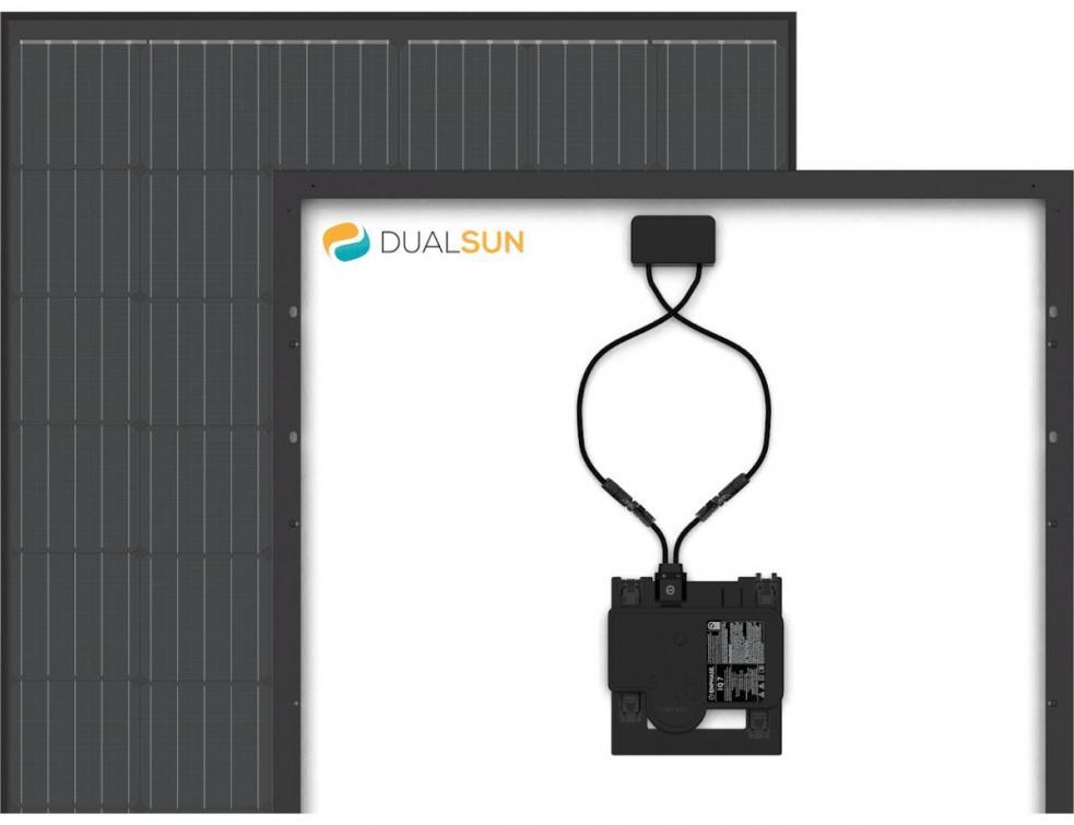 Le 1er panneau photovoltaïque avec micro-onduleur intégré d'un fabricant français