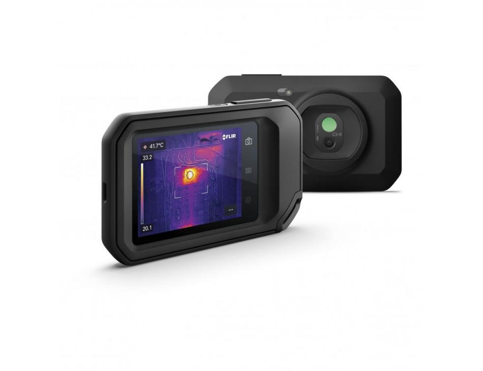 FLIR présente la nouvelle caméra thermique compacte C3-X