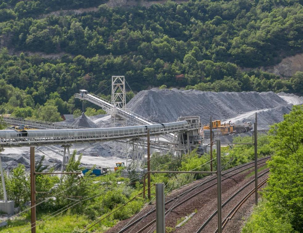 Le tunnel du Lyon-Turin dans la phase de