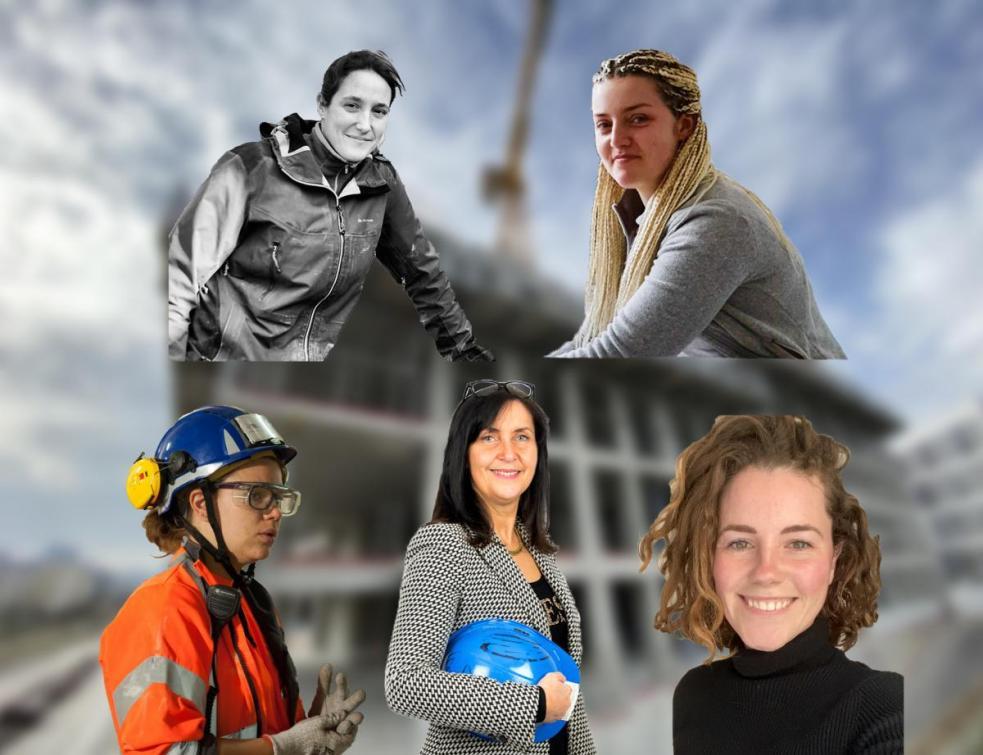 Journée de la femme : 5 femmes du Bâtiment parlent du métier sans filtre !