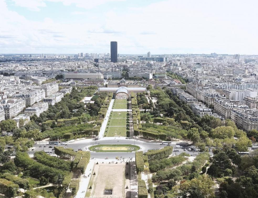Série Grand Palais éphémère : La construction du Grand Palais touche à sa fin