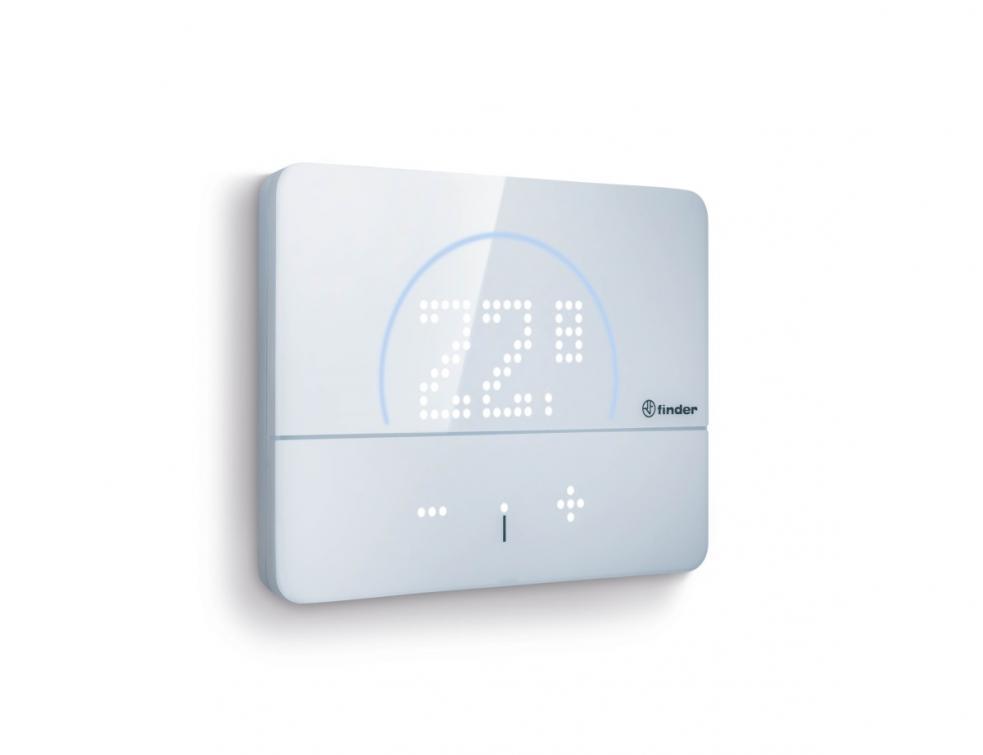 Finder BLISS 2 thermostat connecté réversible à commande vocale avec géolocalisation