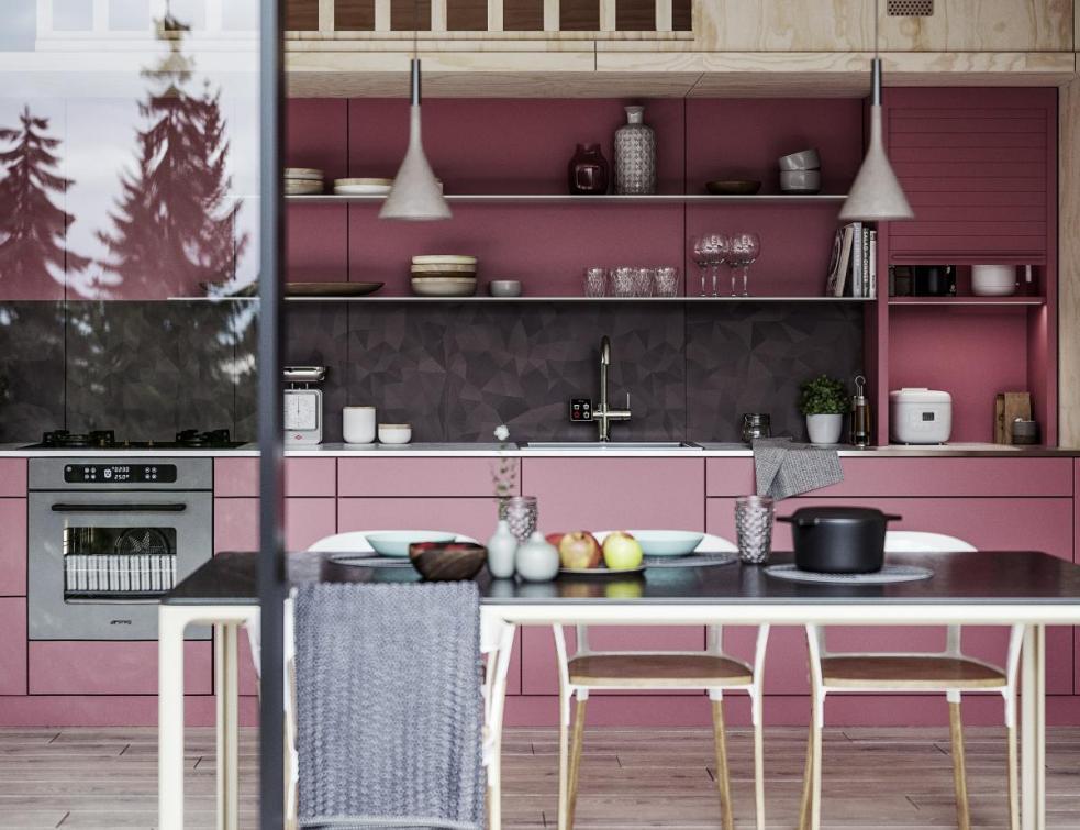 REHAU présente des nouvelles solutions d'aménagement intérieur design et colorées