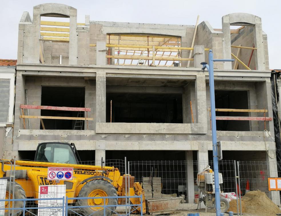 Logements : une légère hausse des permis de construire début 2021