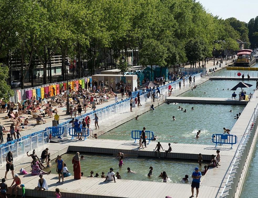 Paris Plages fête ses 20 ans avec un aménagement estival sous le signe du sport