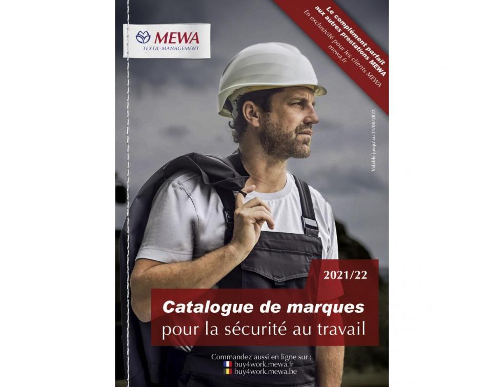Le catalogue de marques MEWA 2021/22 est arrivé